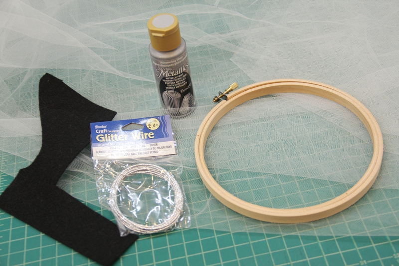 Ghost hoop supplies