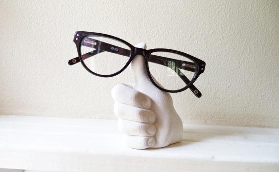 Thumbs Up Eyeglass Holder from RedwoodStoneworks on Etsy.jpg