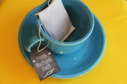 Money Gift Tea Bag 1 - Crafty Staci