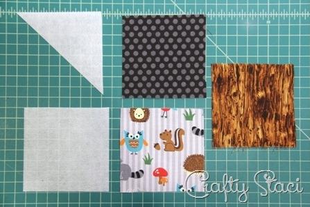 Quick Fabric Corner Bookmarks - Crafty Staci 2