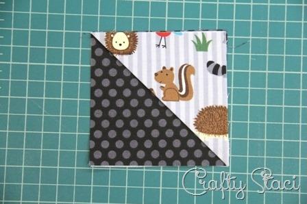 Quick Fabric Corner Bookmarks - Crafty Staci 5