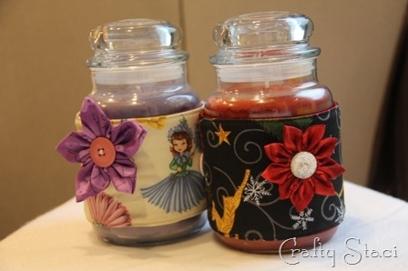 Candle Jar Cozy - Crafty Staci 9