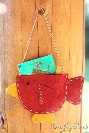 Teacup Bird Gift Card Holder - Crafty Staci