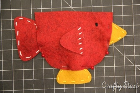 Teacup Bird Gift Card Holder - Crafty Staci 5