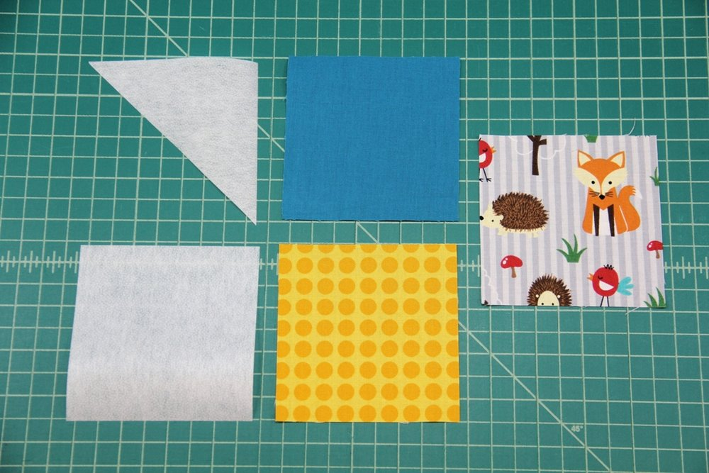 Quick Fabric Corner Bookmarks - Crafty Staci 2