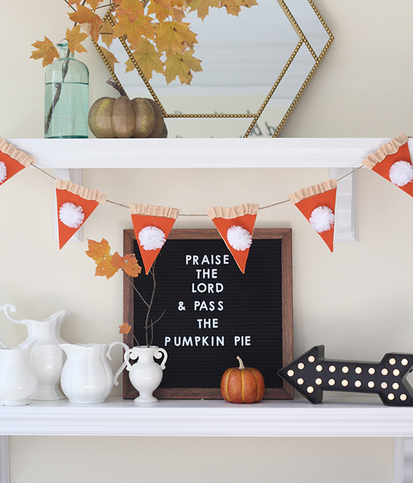 Pumpkin Pie Thanksgiving Garland from Less Than Perfect Life of Bliss.jpg