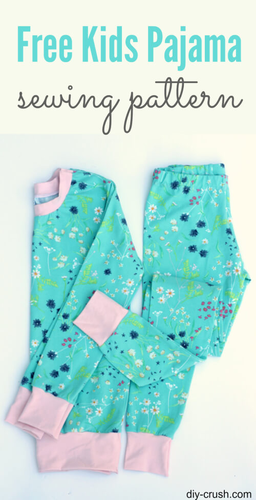 Kids Pajama Pattern from DIY Crush