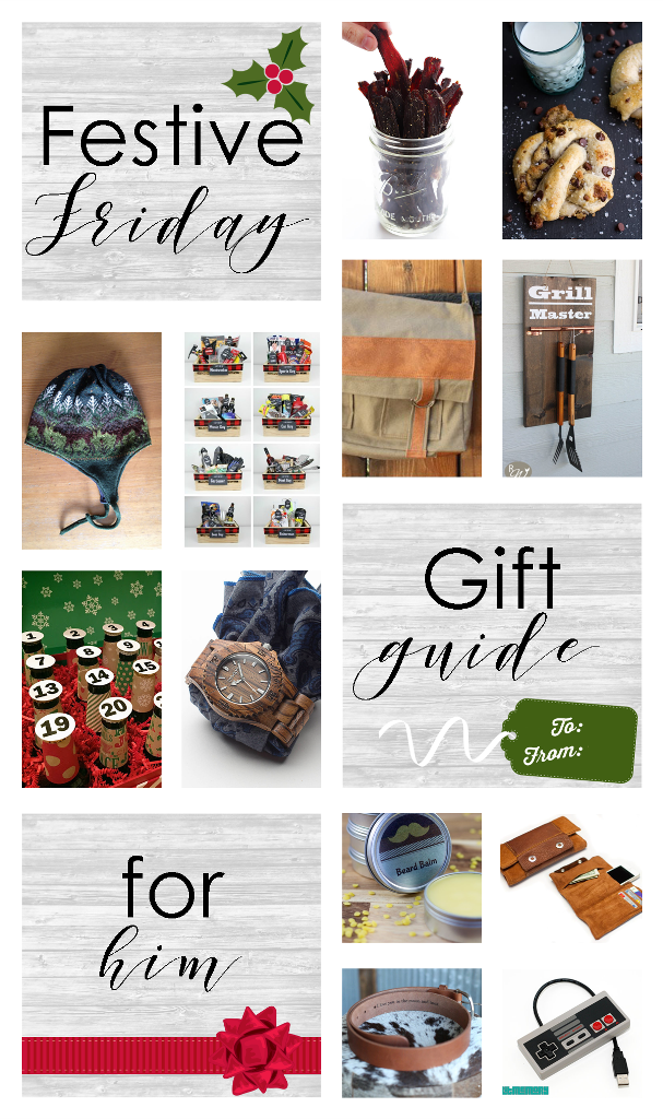 Festive Friday Gift Guide for Him