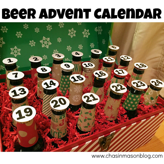 Beer Advent Calendar from Chasin Mason