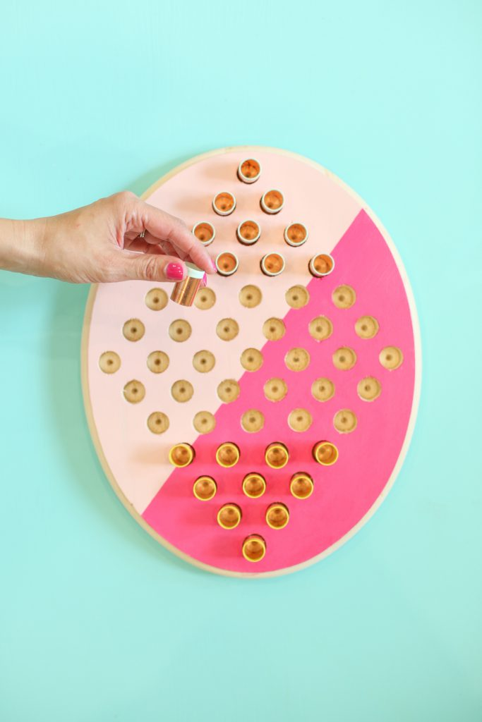 Two Person Chinese Checkers Game from Lovely Indeed.jpg
