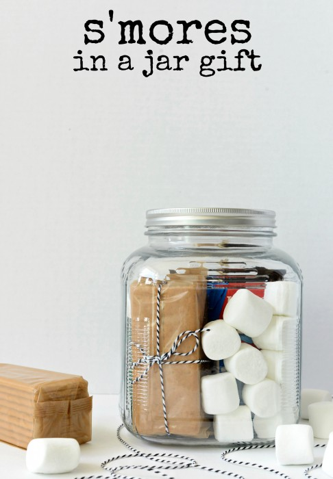 S'mores in a Jar Gift from Hello Splendid