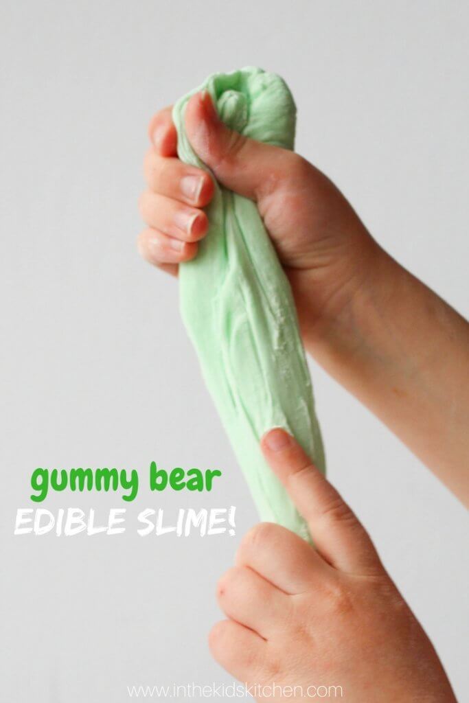 Gummy Bear Edible Slime from In the Kids Kitchen.jpg