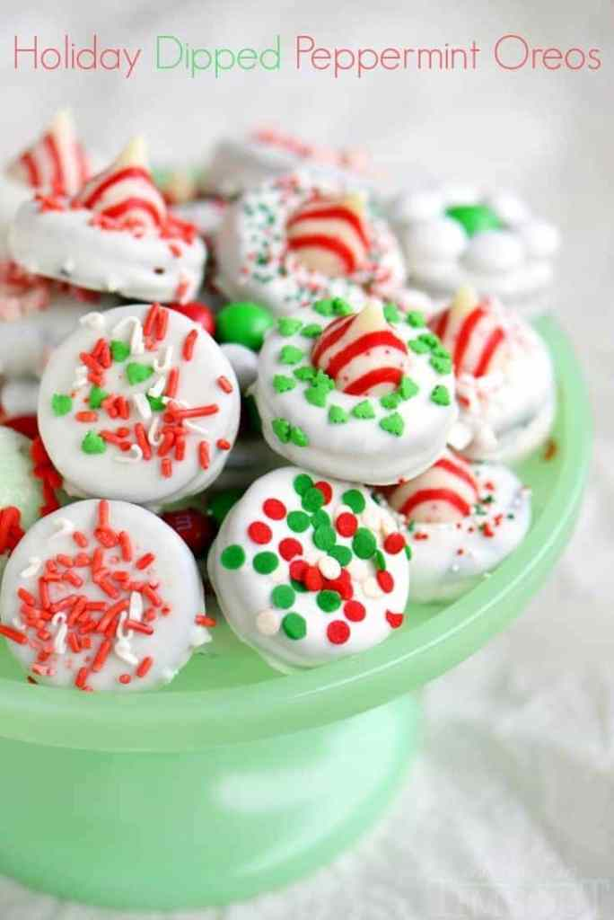 Holiday Dipped Peppermint Oreos from Mom on Timeout.jpg