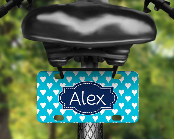 Mini Personalized License Plate from TheInspiredStudio.jpg