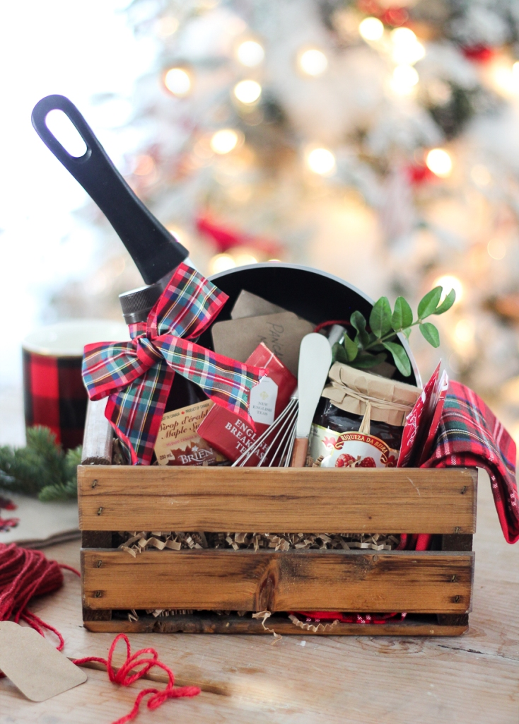Christmas Breakfast Hostess Gift from Craftberry Bush