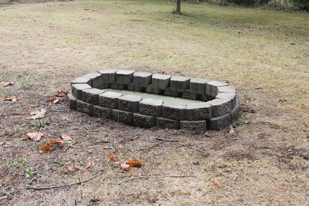 Bathtub fire pit