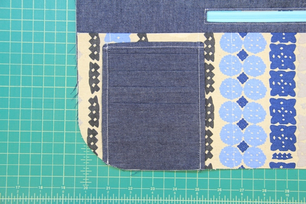 Stitch card pocket