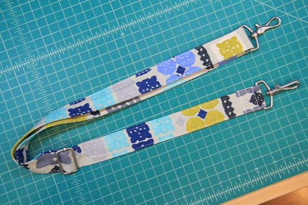 Finished strap