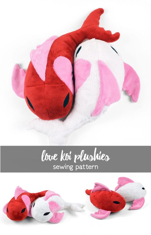 Love Koi Plushies from Choly Knight