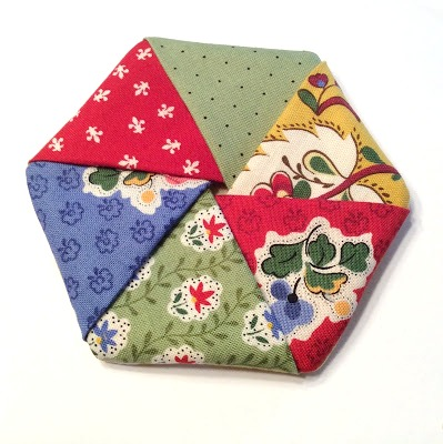Easy Fabric Coasters from Busy As Can Be
