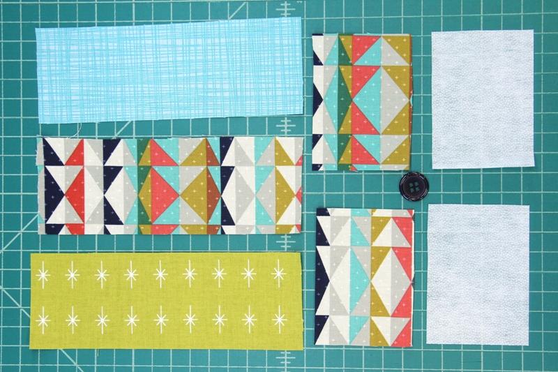 Materials for Fabric Cuff Bracelet