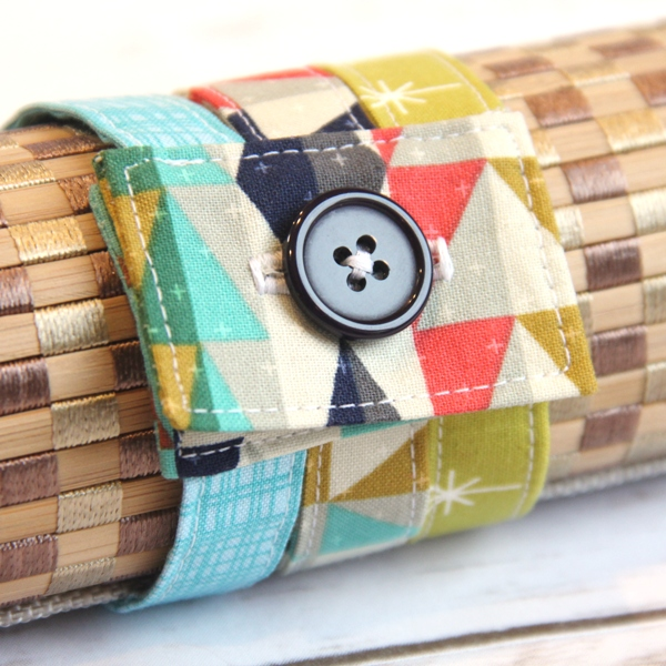 Fabric Cuff Bracelet from Crafty Staci