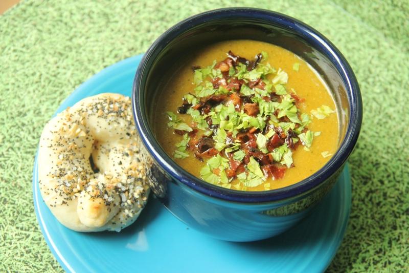 Butternut Squash Broccoli Soup on craftystaci.com