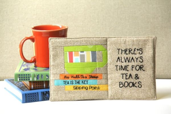 There's Always Time for Tea and Books Mug Mat from Crafty Staci