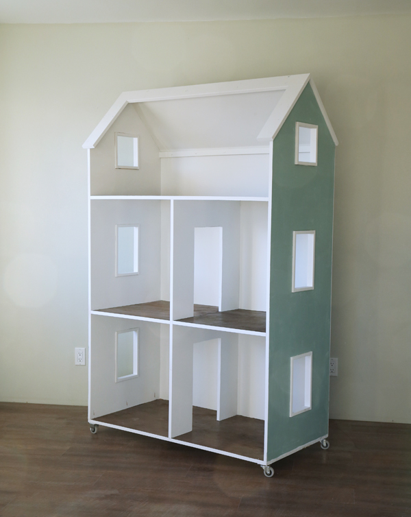 Three Story Dollhouse from Ana White