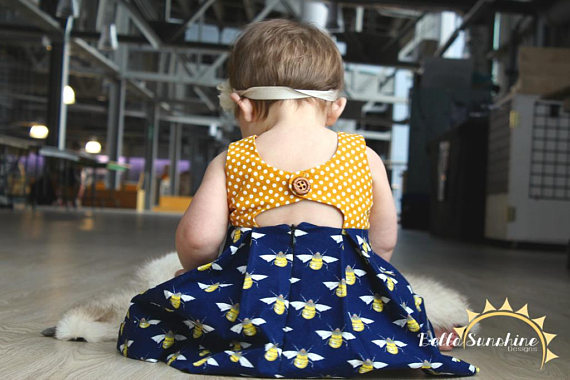 Rebel Girl Dress Pattern from BellaSunshineDesigns