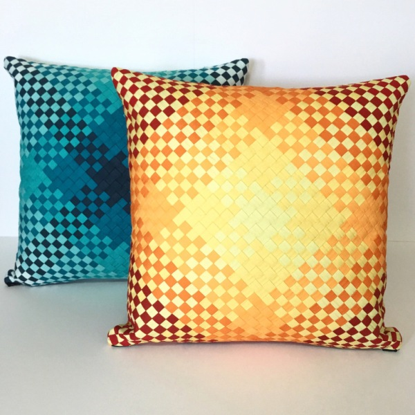 Fabric Weaving Pillows from Mister Domestic.jpg