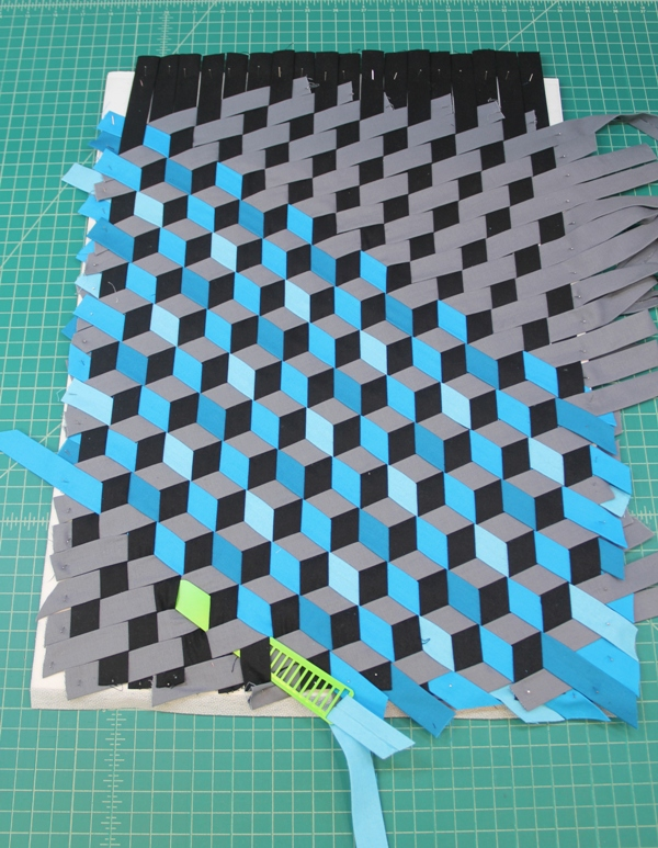 Triaxal weave partial