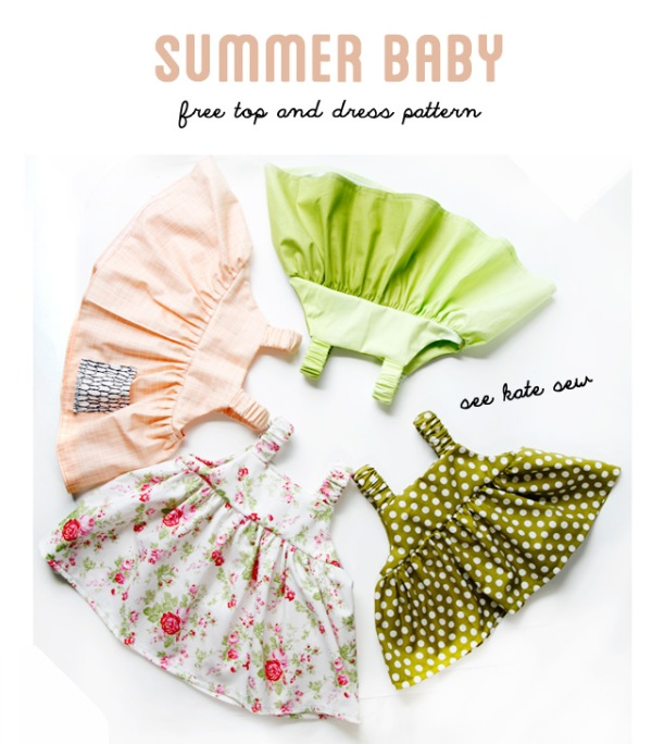 Summer Baby Dress from See Kate Sew
