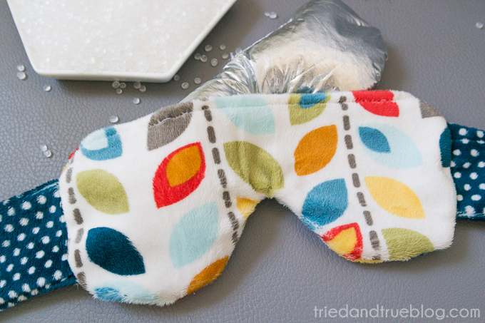Weighted Headache Eye Pillow from Tried and True