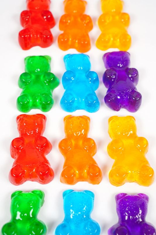 Gummy Bear Shower Soaps from Happiness is Homemade