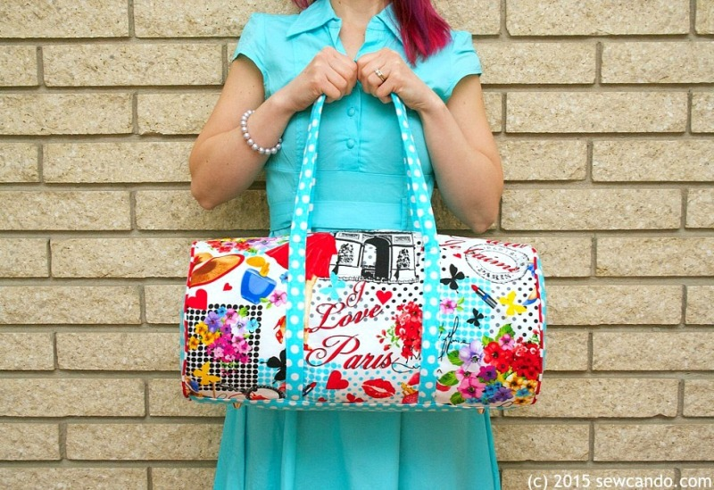 Bon Voyage Duffel from Sew Can Do