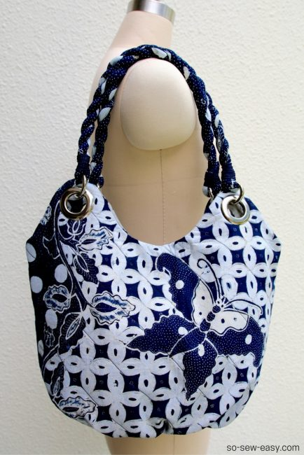 Anti-Pickpocket Bag from So Sew Easy