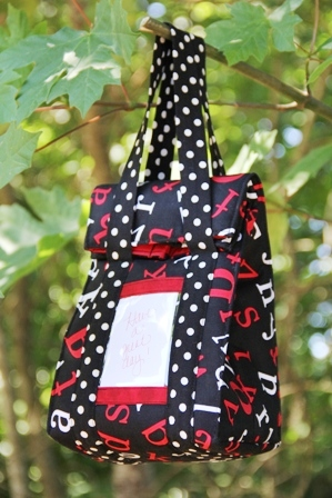Snap Lunch Bag from Crafty Staci