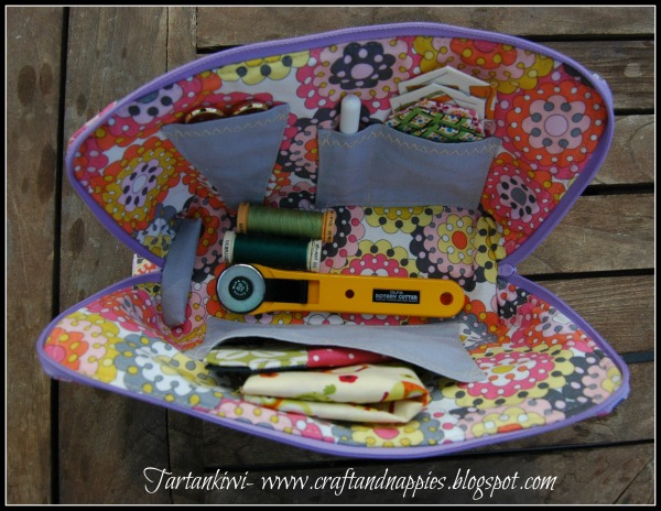 Sewing Case from The Tartankiwi