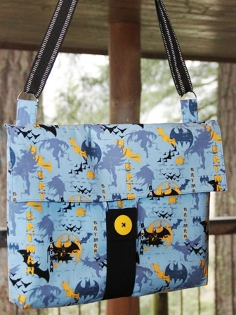 Messenger Bag from Crafty Staci