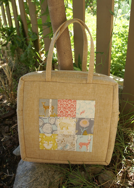 Timber Mosaic Bag from Fabric Mutt
