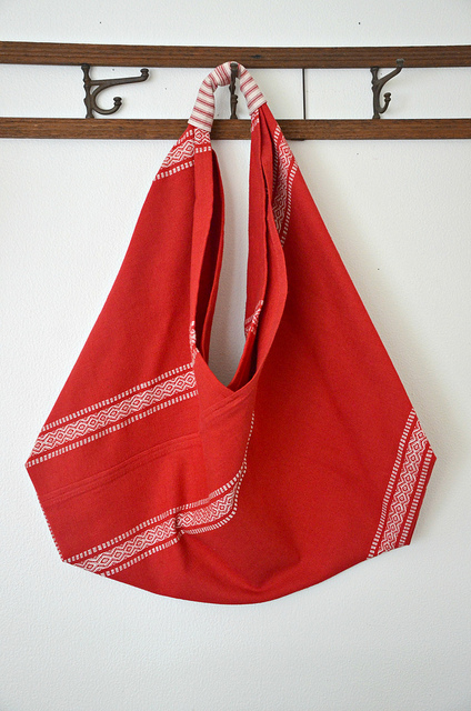 Origami Market Bag from Lola Nova