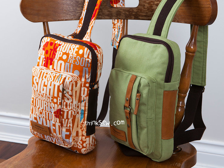 Kenzie Cross Body Sling Bag from I Think Sew ($)