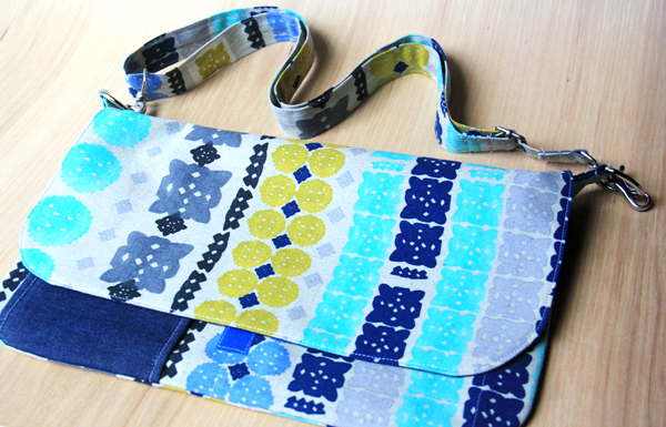 Mini Messenger Bag from Crafty Staci