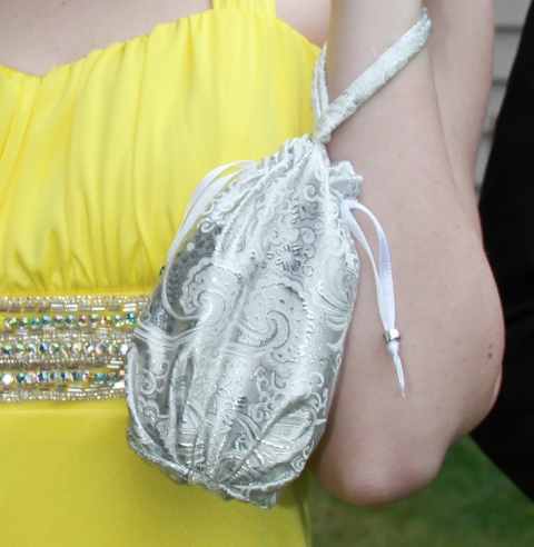 Drawstring Wristlet from Crafty Staci