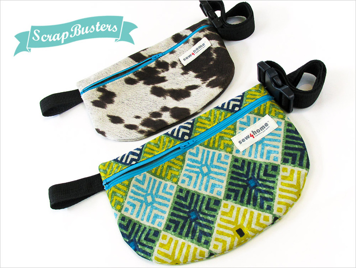 Mini Waist Pack from Sew4Home