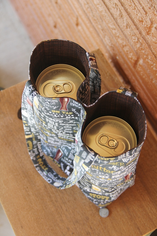 Double Beer Bag from Crafty Staci