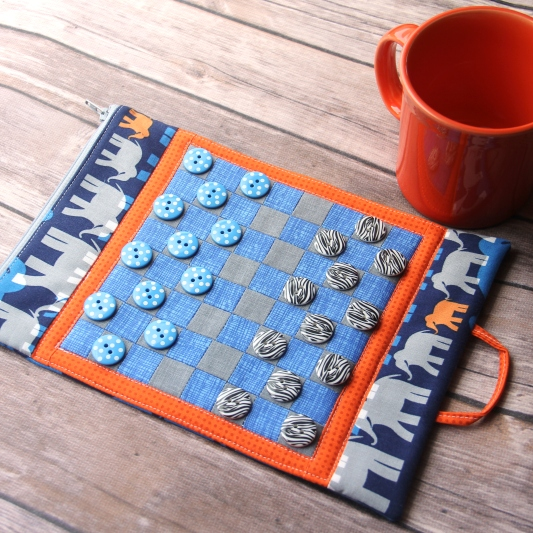 Game Board Mug Mat from Crafty Staci