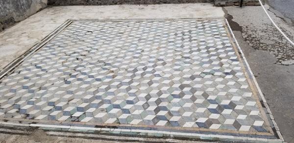 Floor at Pompeii