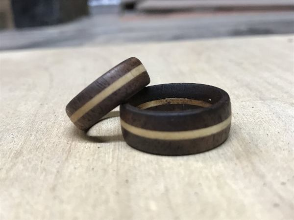 How to Make a Wooden Ring from Inside the Kerf